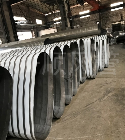Oval spiral duct1